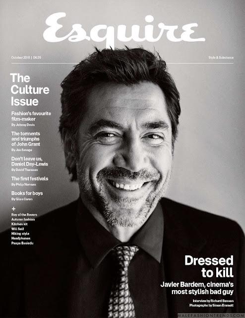 Esquire | Javier Bardem | Simon Emmett