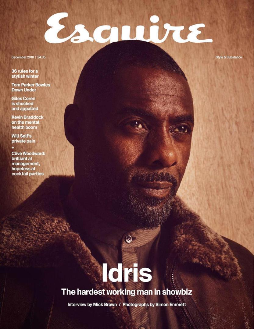 Esquire | Idris Elba | Simon Emmett